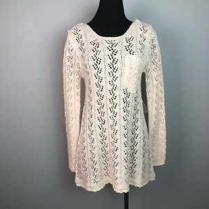 4/25 Lemon soft knit sweater dress / tunic